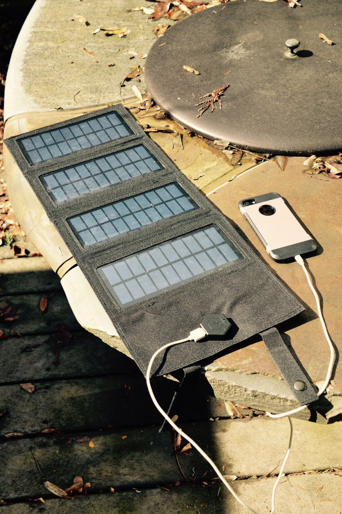 M.O.L.L.E Foldable Solar Charger - Portable and Tactical