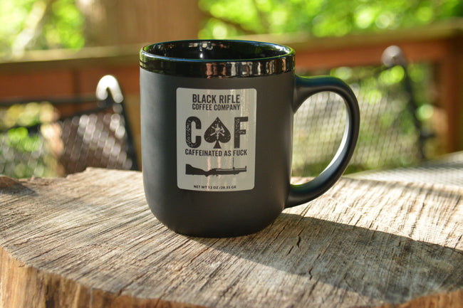 """CAF"" - BLACK RIFLE COFFEE MUG"