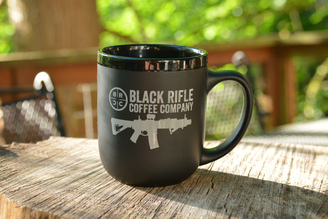 BLACK RIFLE COFFEE MUG