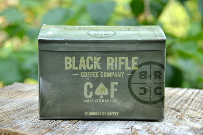 "COFFEE ROUNDS - BRCC ""CAF"" (12 Single Serving)"