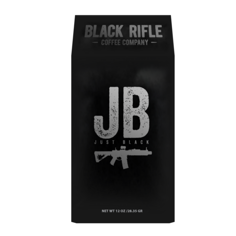 "DARK ROAST - BLACK RIFLE COFFEE ""JUST BLACK"" - Ground"