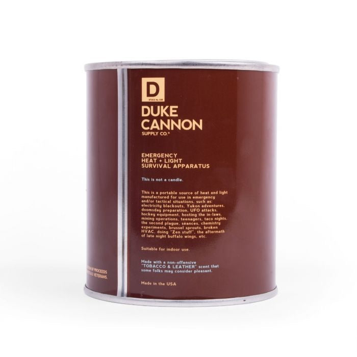 CANDLE : TOBACCO AND LEATHER