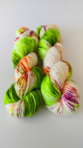 Sour Diesel-Temptress DK-100% Superwash Merino-Ready to Ship