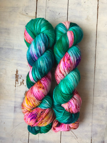 Backyard Luau-Dyed to Order