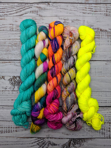Wild Vacay Mini Skein Set-Super Fine Ready to Ship
