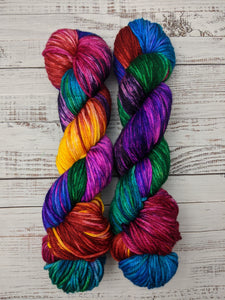 Mad Hatter-Bombshell Worsted-Ready to Ship