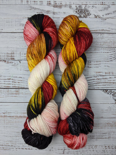 Queen of Hearts-Bombshell Worsted-Ready to Ship