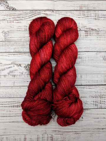 Blood on the Staircase-Dryad Sock-Super Fine Ready to Ship