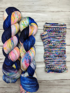 Plaza Lights-Seductress Sock-Super Fine Ready to Ship
