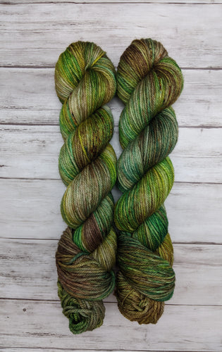 Forest Floor-Bombshell Worsted-Ready to Ship
