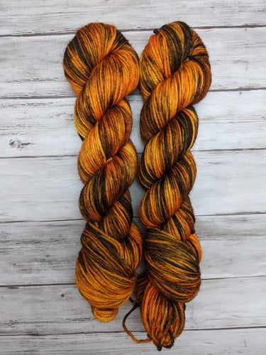 The Great Pumpkin-Bombshell Worsted-Ready to Ship