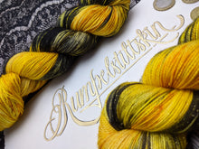 Load image into Gallery viewer, Rumpelstiltskin-Seductress Sock-Super Fine-Ready to Ship
