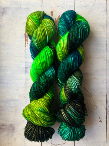 40 Shades of Green-Temptress DK-Ready to Ship