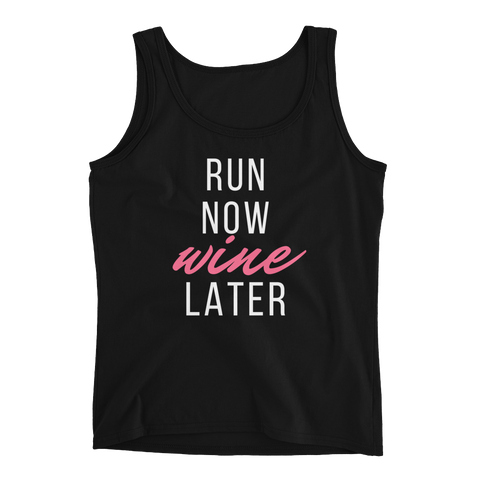 Run Now, Wine Later (dark colors)