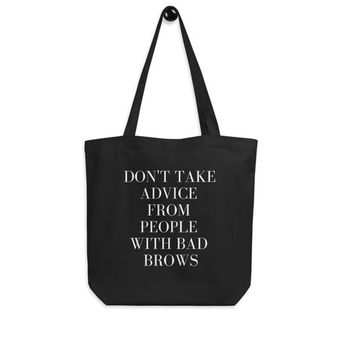Bad Brows tote bag