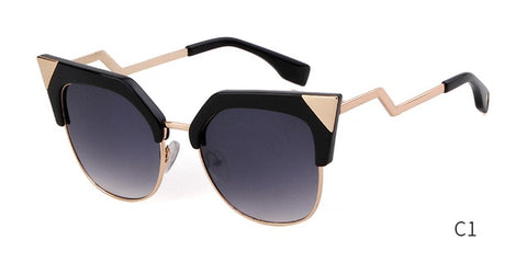 Vivian Gold Accent Sunglasses
