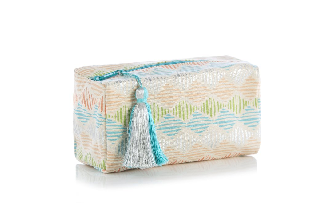 Geo Boxy Cosmetic Pouch