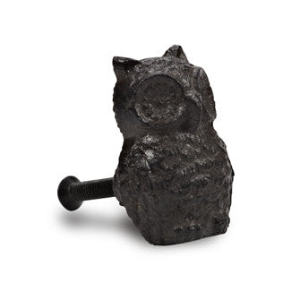 Cast Iron Owl Knob - Across The Way