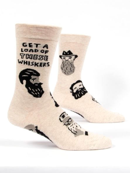 Get a load of these whiskers Socks