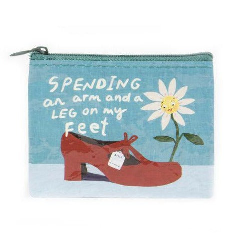 Spending Arm & Leg Coin Purse