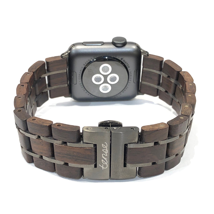 38mm - 40mm Leadwood & Gunmetal - Apple Watch Band - Across The Way