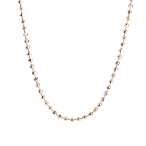 24in Ball Chain 12K Gold Plated - Across The Way