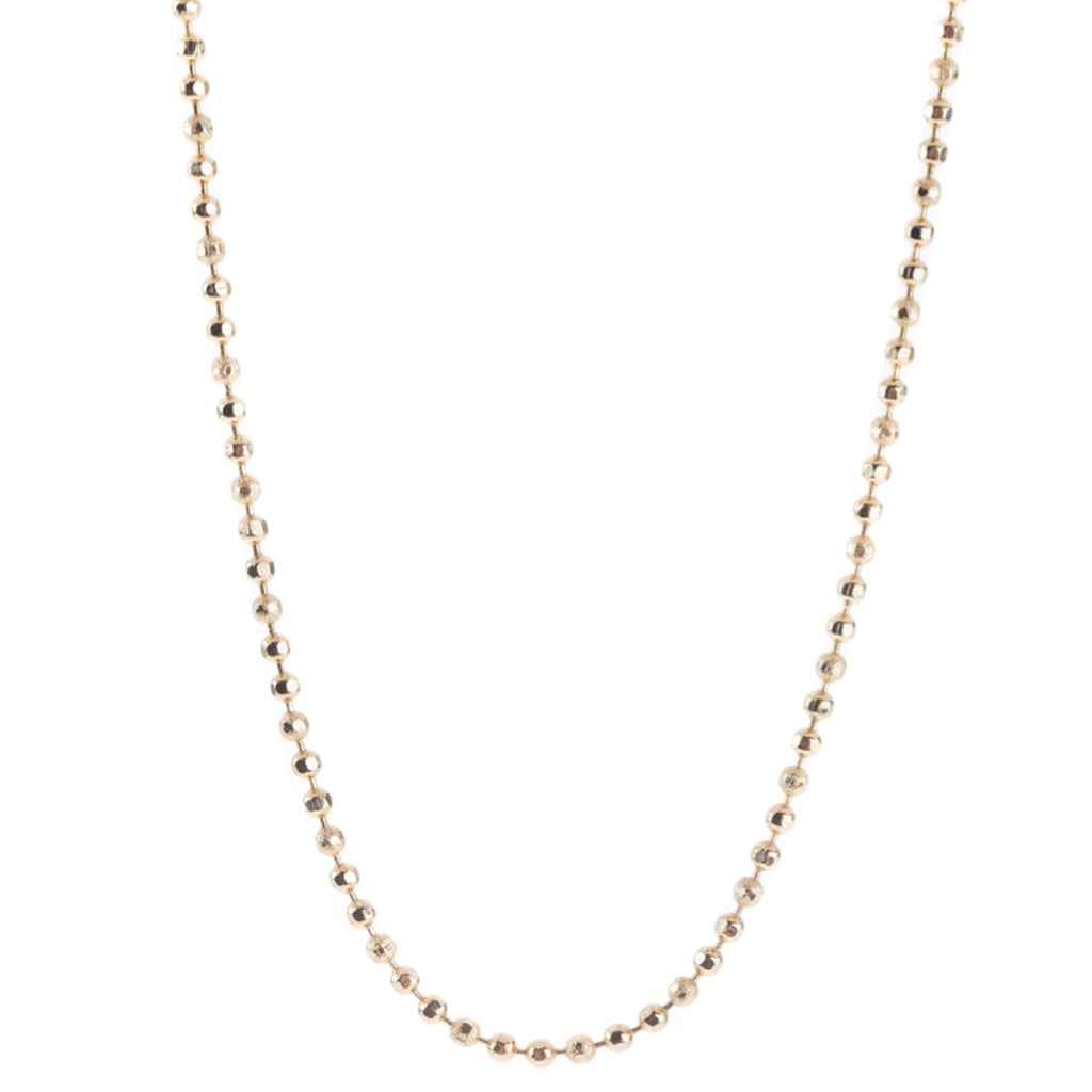 36in Ball Chain 12K Gold Plated