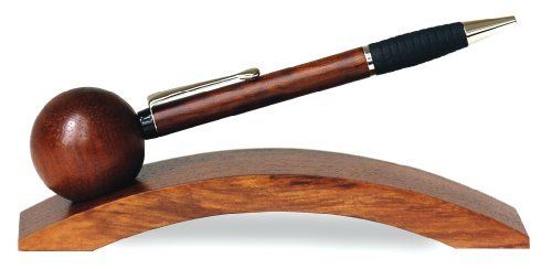 Rosewood Helios Magnetic Pen & Stand