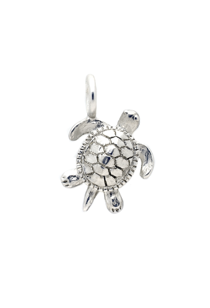 Seaturtle charm silver - Across The Way