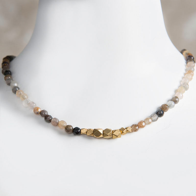 Jerry Gemstone Choker - Fancy Jasper
