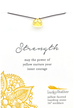 Power Necklace Yellow Stregnth