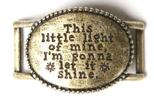 This little light of mine... antique brass - Across The Way