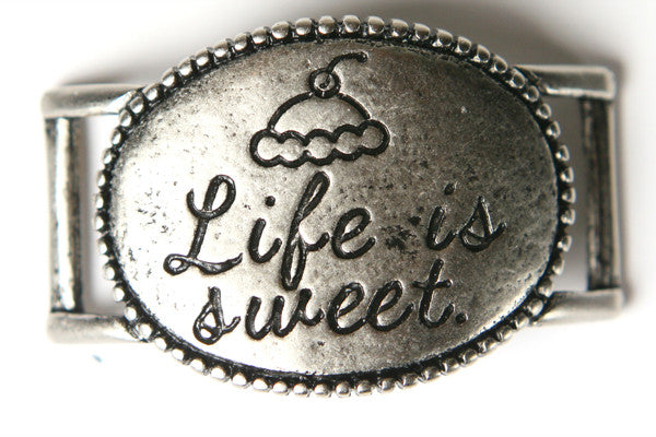 Life is Sweet. antique Silver - Across The Way