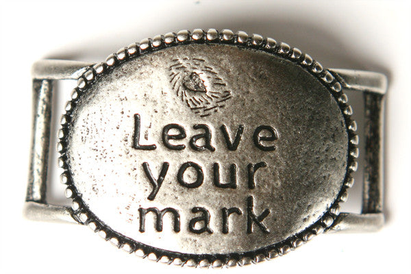 Leave Your Mark antique Silver - Across The Way