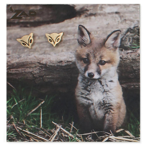 Picture Fox Post Earring