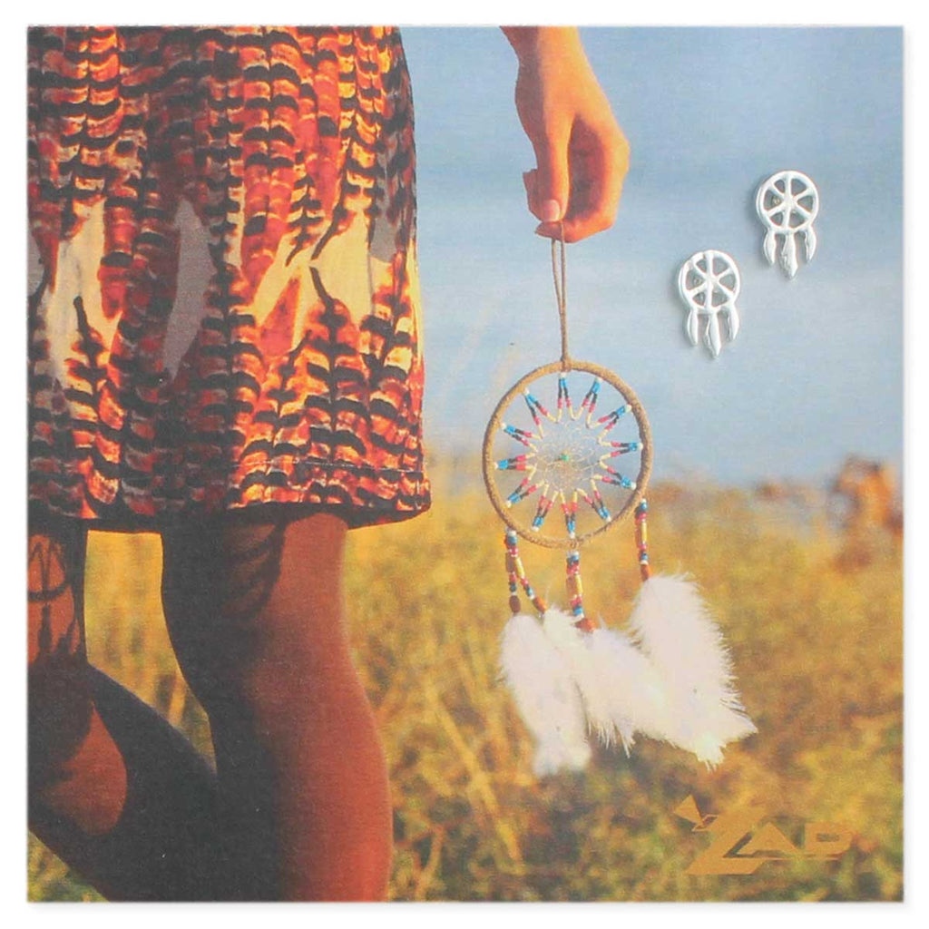 Picture Dreamcatcher Post Earrings - Across The Way