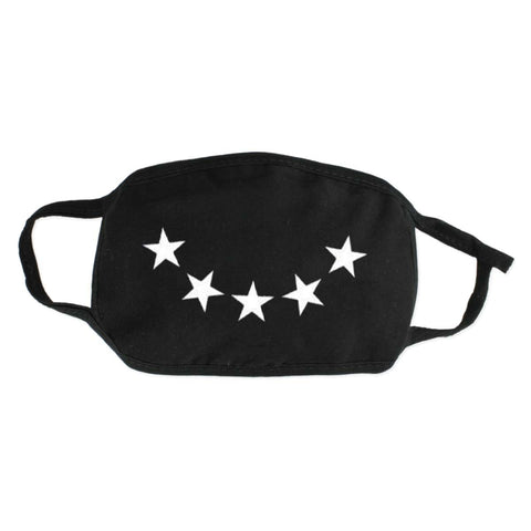 Star Smile Cotton Face Mask