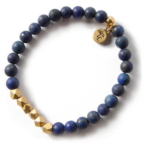 6mm Gemstone Bracelet - Lapis Lazuli - Across The Way