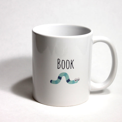 Book Worm Mug - Across The Way