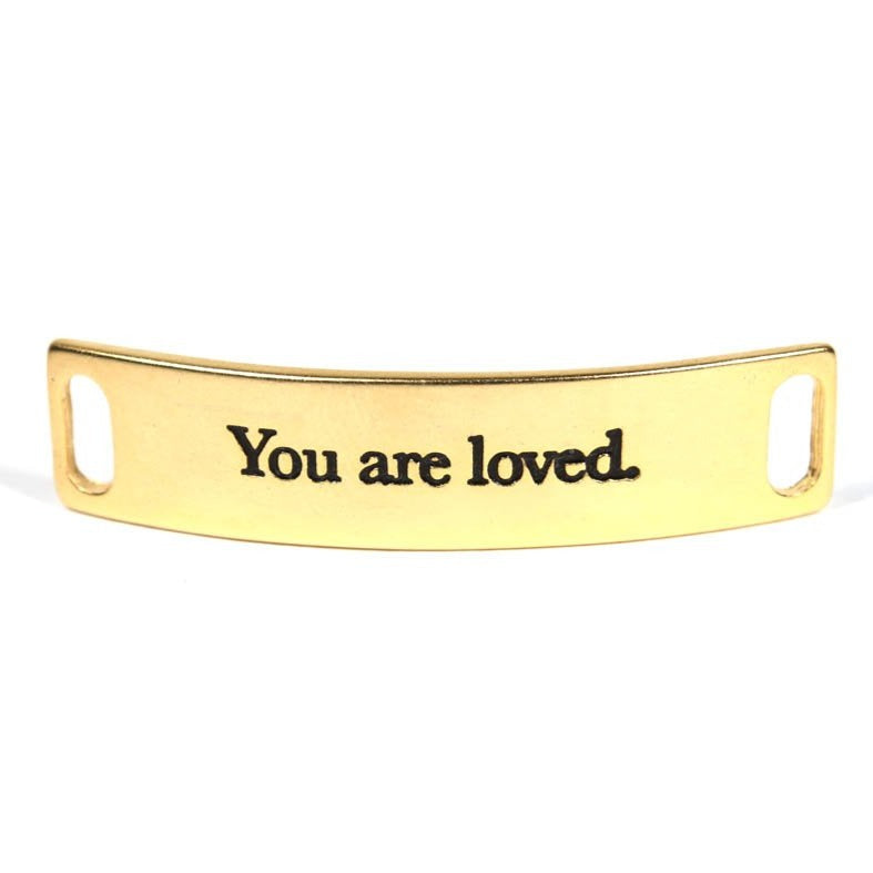 You are loved - Gold