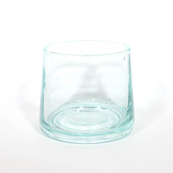 Hand-Blown Shot Tealight Holder