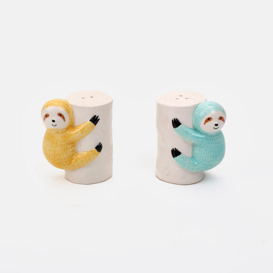 Sloth Salt and Pepper Set