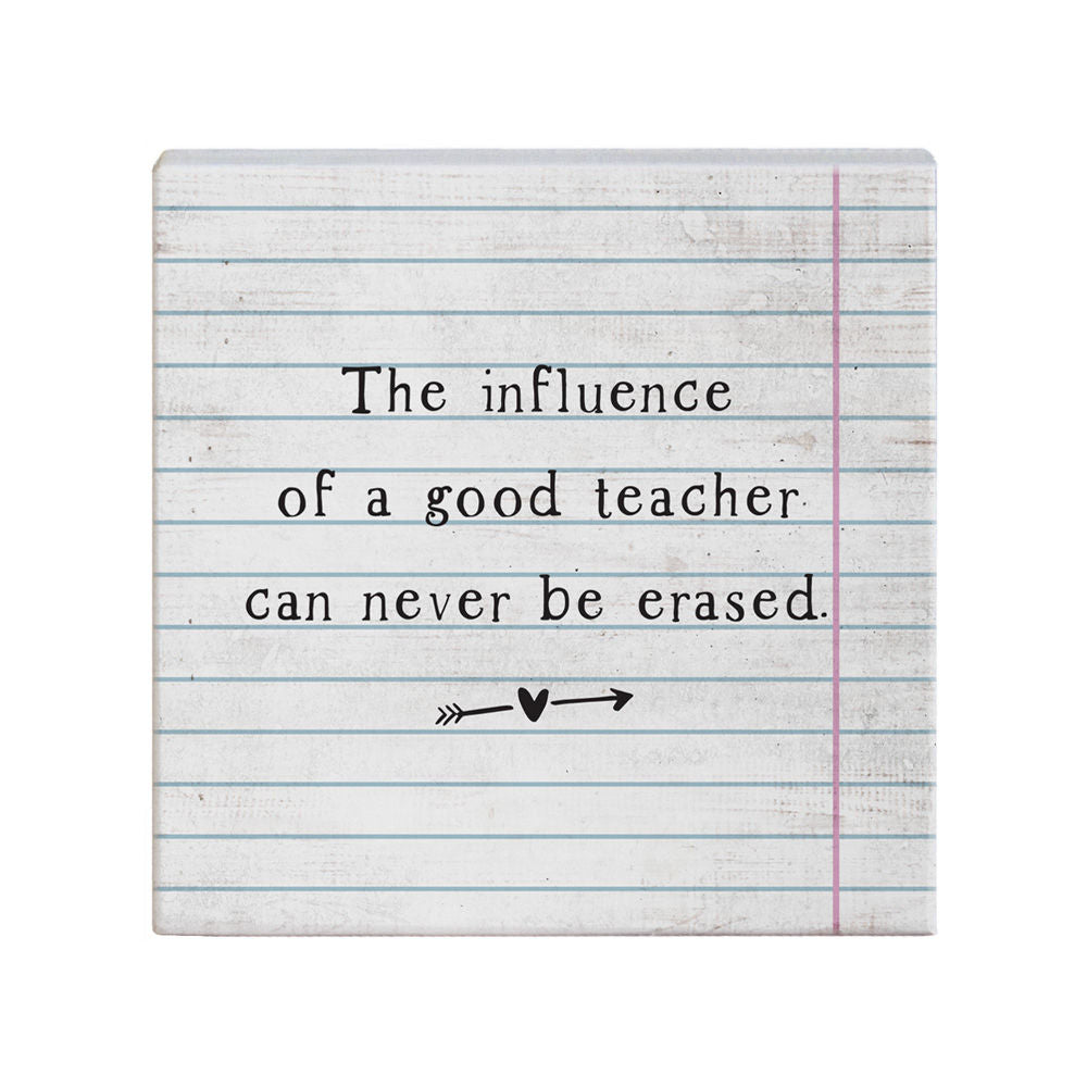 The influence of a good teacher - Across The Way
