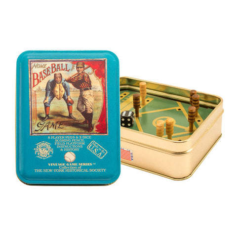 Toy Tin Vintage Baseball