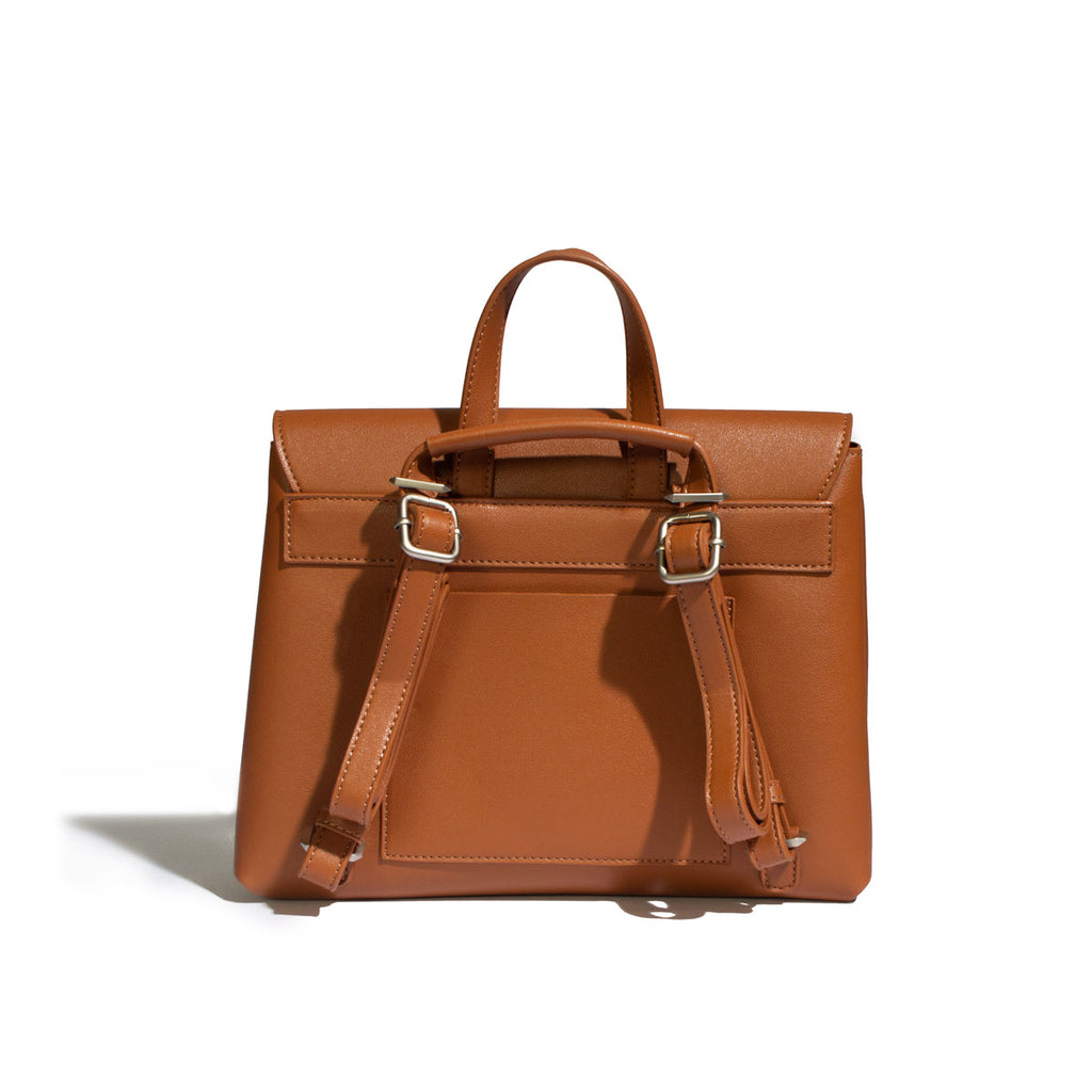 Janice Backpack - Cognac - Across The Way