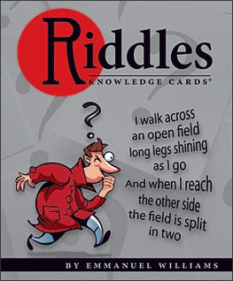 Riddles Knowledge Card Deck - Across The Way