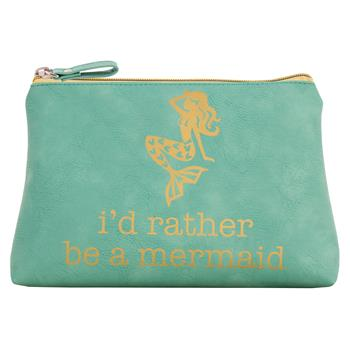 Id rather be a Mermaid Cosmetic Bag