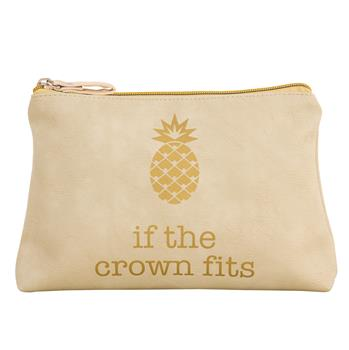 If the Crown Fits Cosmetic Bag