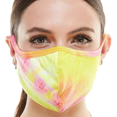 Mask - Pink and Yellow