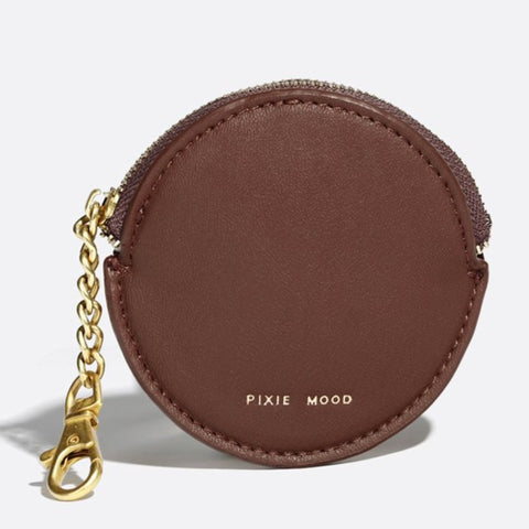 Monica Accessories Pouch - Dark Oak